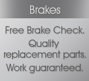Brake Testing, Brake Replacement & Brake Fitting at Grays AutoCenters for all makes and models