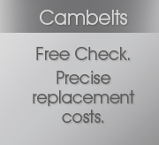 Cambelts Free Check. Precise replacement costs.