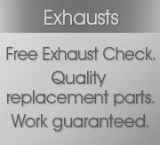 Exhaust Fitting and Free Exhaust Inspections at Grays AutoCenters for all makes and models
