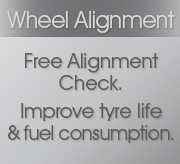 Wheel Alignment at Grays AutoCenters for all makes and models using State-of-the-art Hunter alignment system